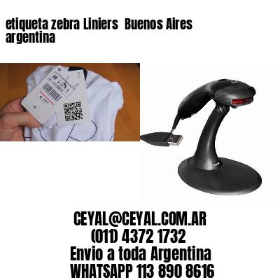 etiqueta zebra Liniers  Buenos Aires argentina