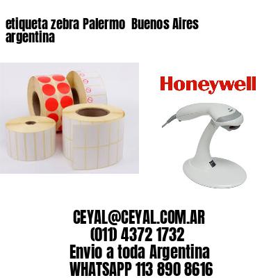 etiqueta zebra Palermo  Buenos Aires argentina