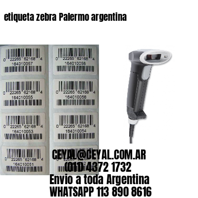 etiqueta zebra Palermo argentina