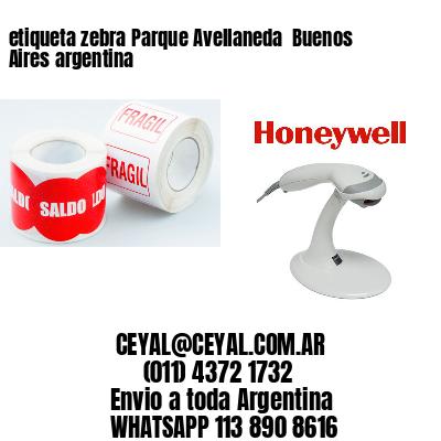 etiqueta zebra Parque Avellaneda  Buenos Aires argentina