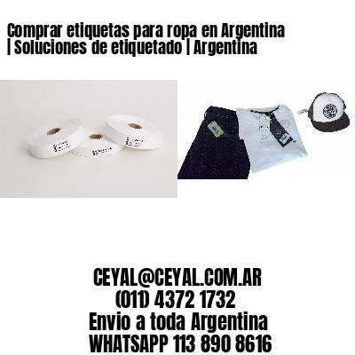 Comprar etiquetas para ropa en Argentina | Soluciones de etiquetado | Argentina