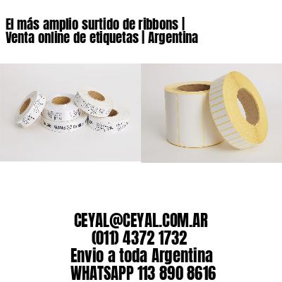 El más amplio surtido de ribbons | Venta online de etiquetas | Argentina