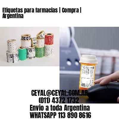 Etiquetas para farmacias   Compra   Argentina