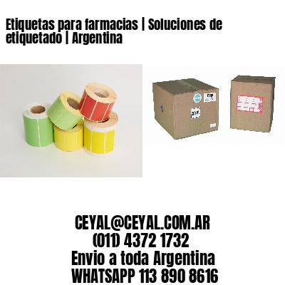 Etiquetas para farmacias   Soluciones de etiquetado   Argentina
