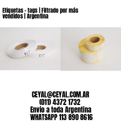 Etiquetas - tags | Filtrado por más vendidos | Argentina