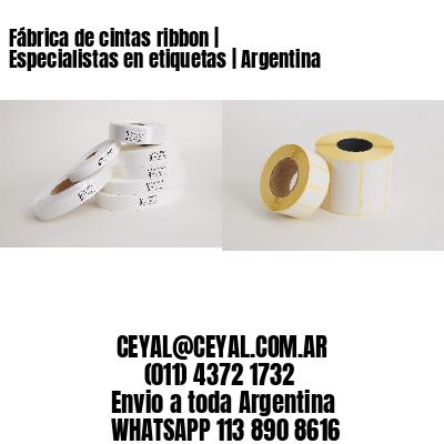 Fábrica de cintas ribbon | Especialistas en etiquetas | Argentina