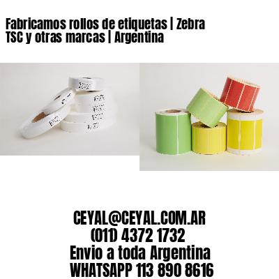 Fabricamos rollos de etiquetas | Zebra TSC y otras marcas | Argentina
