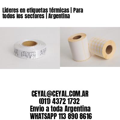 Líderes en etiquetas térmicas | Para todos los sectores | Argentina