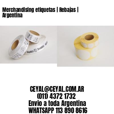 Merchandising etiquetas | Rebajas | Argentina