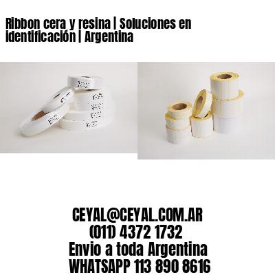 Ribbon cera y resina   Soluciones en identificación   Argentina