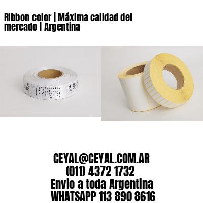 Ribbon color | Máxima calidad del mercado | Argentina