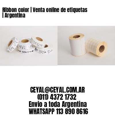Ribbon color | Venta online de etiquetas | Argentina