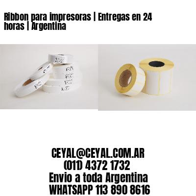 Ribbon para impresoras | Entregas en 24 horas | Argentina