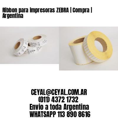 Ribbon para impresoras ZEBRA | Compra | Argentina