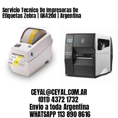 Servicio Tecnico De Impresoras De Etiquetas Zebra | GK420d | Argentina