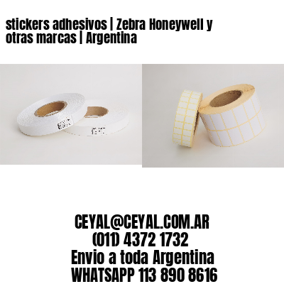 stickers adhesivos | Zebra Honeywell y otras marcas | Argentina