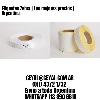 Etiquetas Zebra   Los mejores precios   Argentina