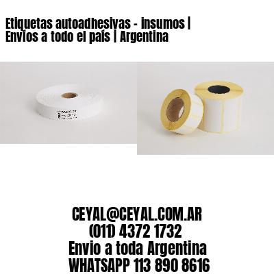 Etiquetas autoadhesivas - insumos   Envíos a todo el país   Argentina