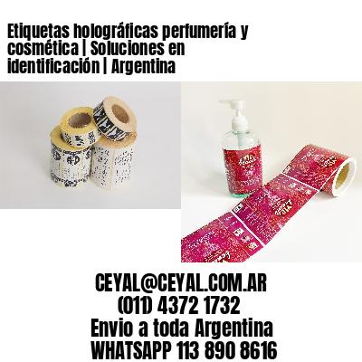 Etiquetas holográficas perfumería y cosmética   Soluciones en identificación   Argentina