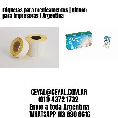 Etiquetas para medicamentos | Ribbon para impresoras | Argentina