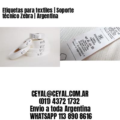 Etiquetas para textiles   Soporte técnico Zebra   Argentina