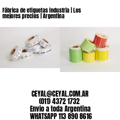 Fábrica de etiquetas industria   Los mejores precios   Argentina