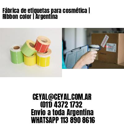 Fábrica de etiquetas para cosmética | Ribbon color | Argentina