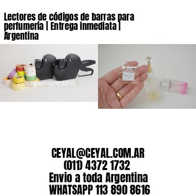 Lectores de códigos de barras para perfumería   Entrega inmediata   Argentina