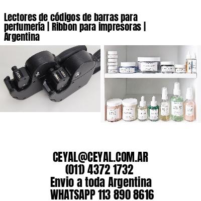 Lectores de códigos de barras para perfumería | Ribbon para impresoras | Argentina