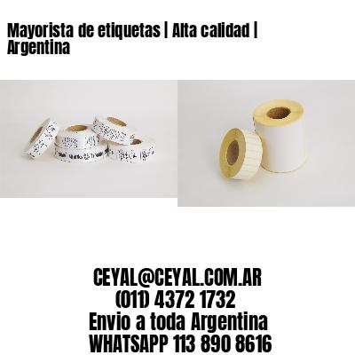 Mayorista de etiquetas   Alta calidad   Argentina