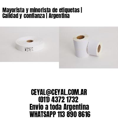 Mayorista y minorista de etiquetas   Calidad y confianza   Argentina