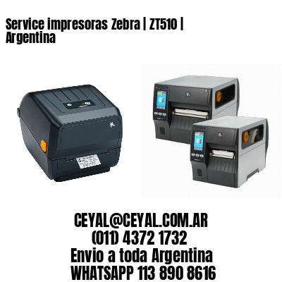 Service impresoras Zebra   ZT510   Argentina
