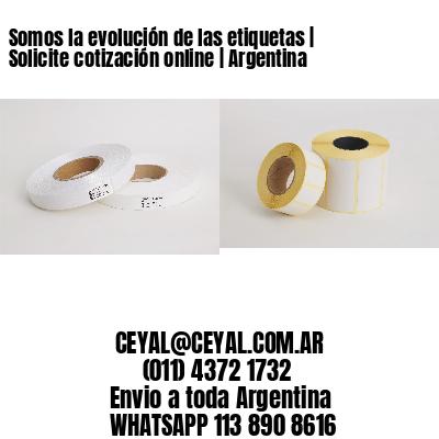 Somos la evolución de las etiquetas   Solicite cotización online   Argentina